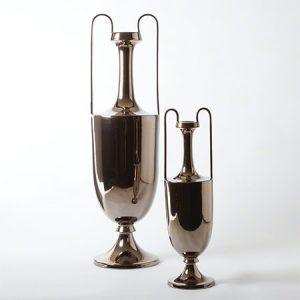 Brozne Elongated Amphoras