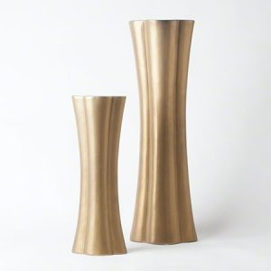 Quatrefoil Elongated Vases