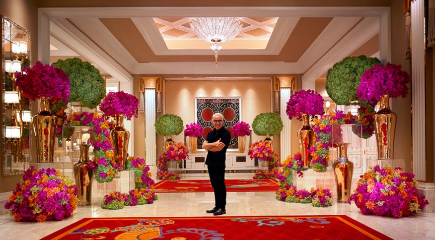 A palace full of dazzling blooms | The Roger Thomas Collection